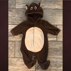 Baby Bear fleece outfit/costume